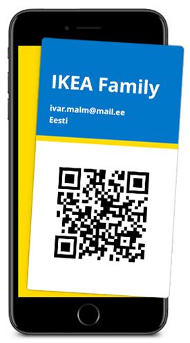 IKEA Family digikaart
